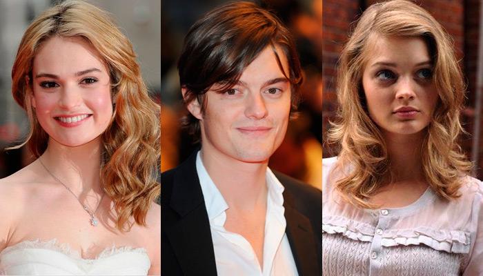 Lily James, Sam Riley e Bella Heathcote