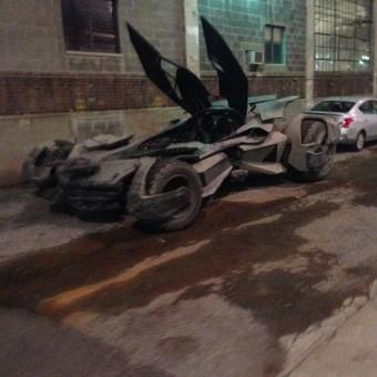 Veja novas imagens do Batmóvel em Batman V Superman: Dawn of Justice