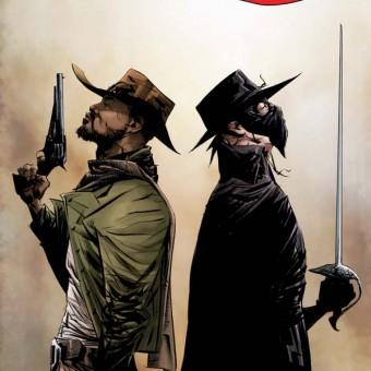 Veja as primeiras imagens do encontro do Zorro com o Django