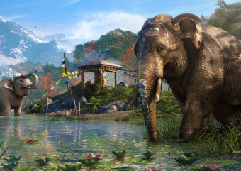 Novo trailer de Far Cry 4 se foca apenas nos elefantes de Kyrat