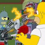 Crossover entre Futurama e Os Simpsons ganha primeira imagem oficial