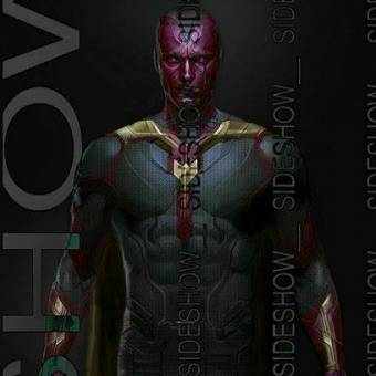 Arte conceitual mostra o possível visual do Visão em Os Vingadores 2: A Era de Ultron
