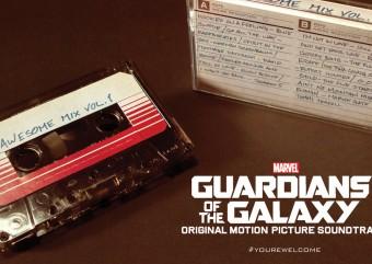 Trilha sonora de Guardiões da Galáxia será lançada em fita cassete