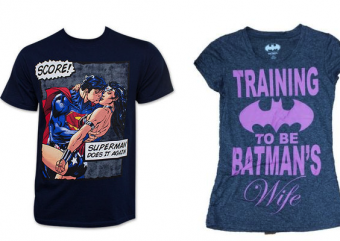 DC responde polêmica sobre camisetas sexistas