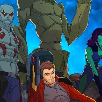 Guardiões da Galáxia vão ganhar animação no Disney XD