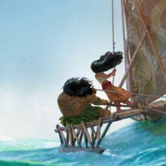 Conheça Moana, animação da Disney para 2016