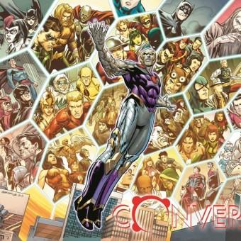 DC Comics lança um pôster do evento Convergence