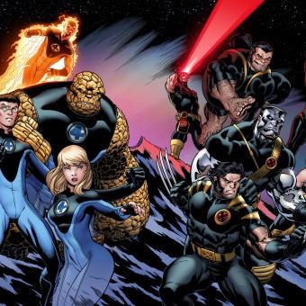 Fox estaria planejando um crossover entre o Quarteto Fantástico e os X-Men