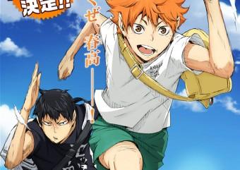 Anime Haikyuu!! ganhará segunda temporada