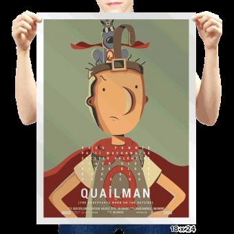 E se o Homem Codorna fosse o Birdman? Veja os pôsteres-paródia dos concorrente ao Oscar