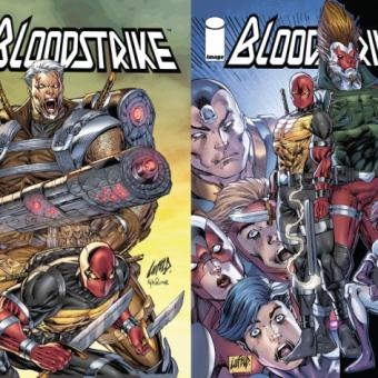 Rob Liefeld está de volta à Image Comics com Bloodstrike e Brigade