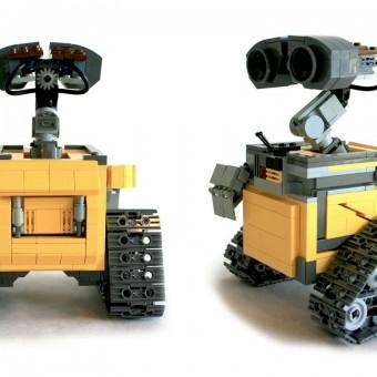 LEGO anuncia novos sets de Wall-E e Doctor Who