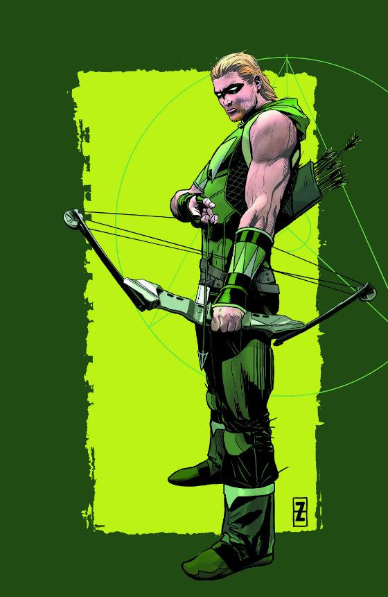 green arrow visual