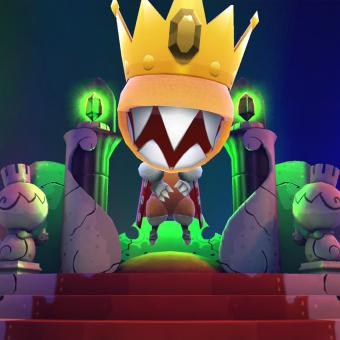 Krinkle Krusher, primeiro jogo brasileiro no PS4, será lançado em Abril