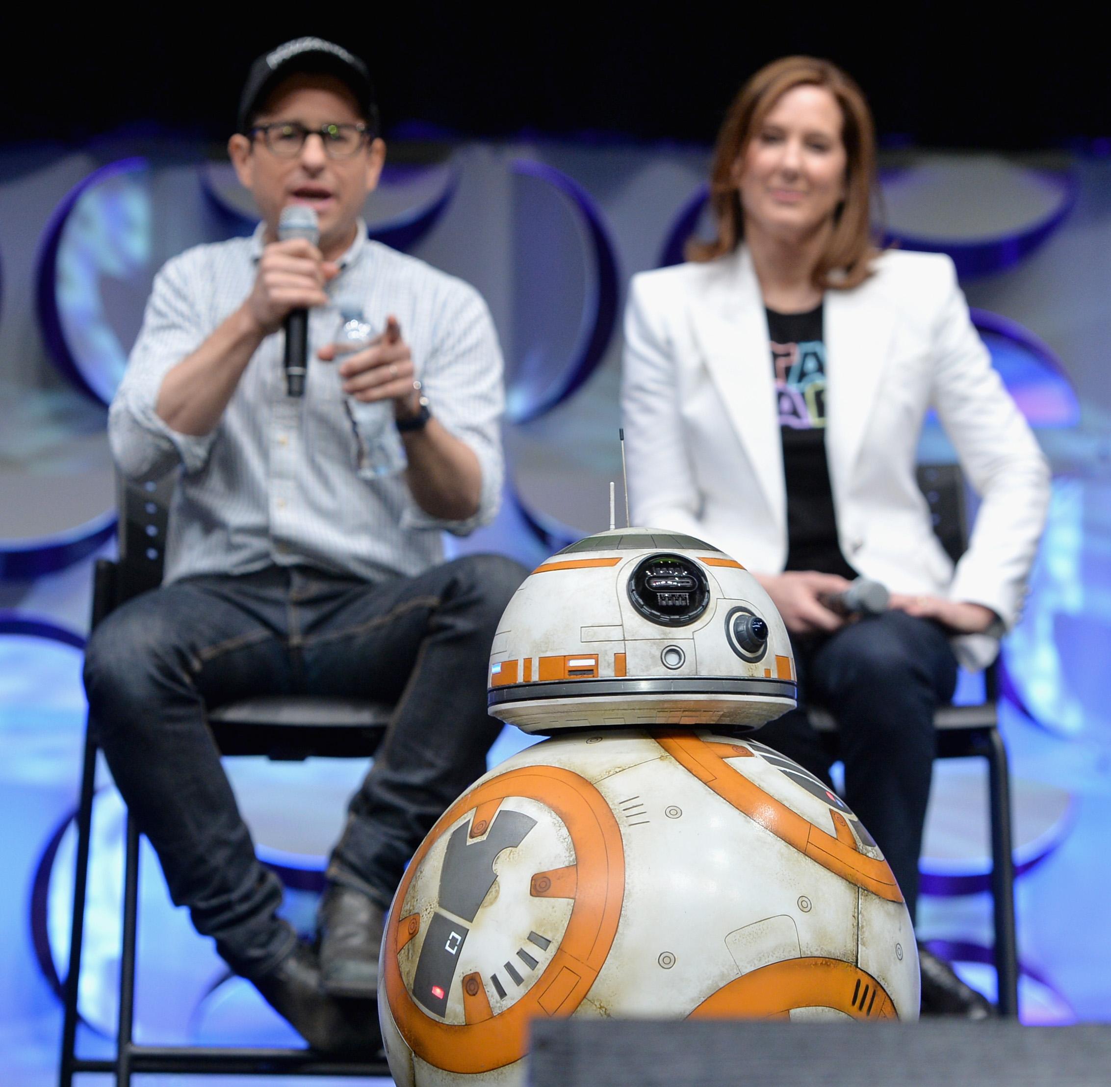 BB-8, o robô de Star Wars Episódio VII