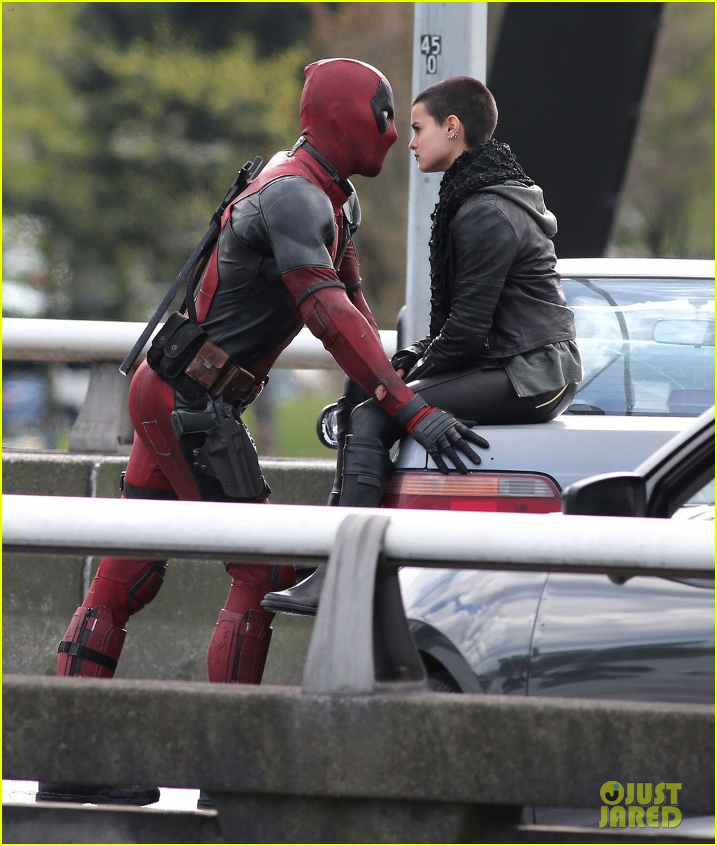 Stars Filming 'Deadpool' In Vancouver