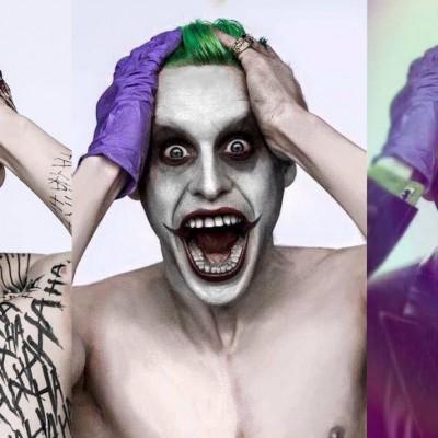 Analisando o visual do Coringa de Jared Leto e de onde vieram suas tatuagens