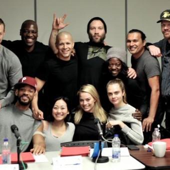 David Ayer divulga foto do elenco de Esquadrão Suicida