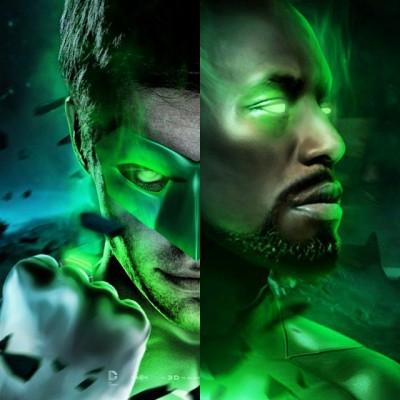 Tyrese Gibson volta a expressar vontade de viver o Lanterna Verde John Stewart nos cinemas