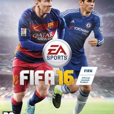 Essa é a capa nacional de FIFA 16 com Oscar do Chelsea
