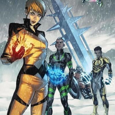 Marvel Comics apresenta a nova revista dos Inumanos: All-New Inhumans