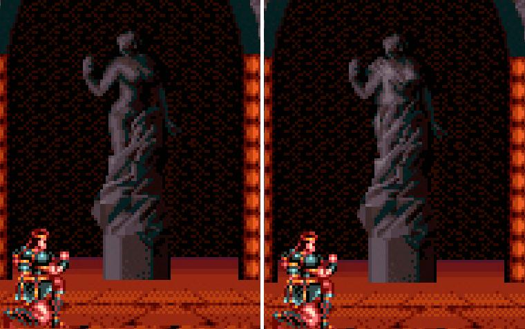 castlevania statue