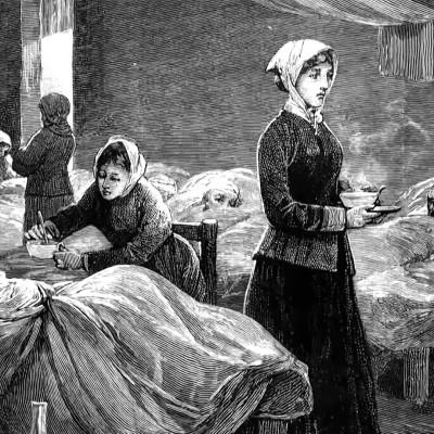 """Florence Nightingale, a """"Dama da Lâmpada"""""""