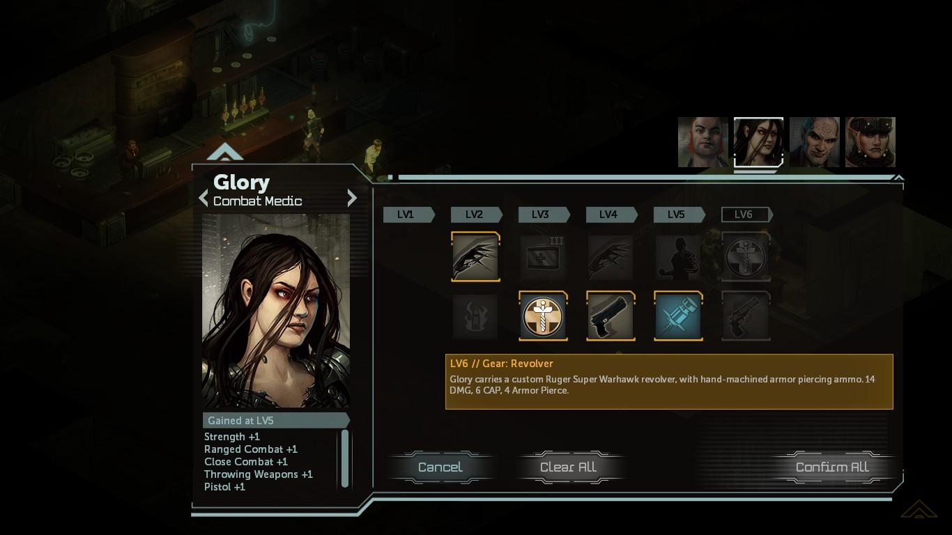 No Director's Cut, é possível ter um leve controle nos poderes de cada personagem da equipe ao direcionar quais devem ser seus pontos fortes.