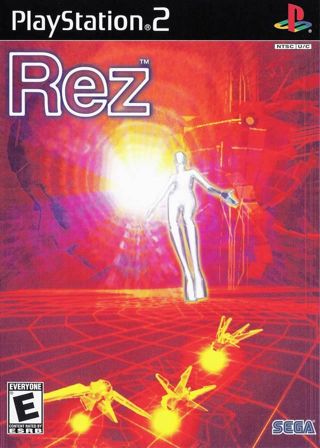 rez ps2 game